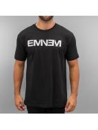 Amplified T-skjorter Eminem Logo svart