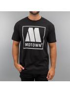 Amplified T-skjorter Motown Logo svart