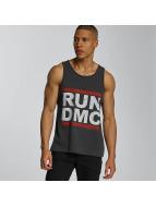 Amplified Tank Tops Run DMC Logo harmaa