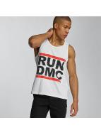 Amplified Tank Tops Run DMC Logo hvid