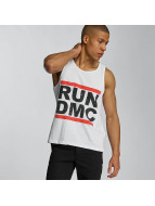 Amplified Tank Tops Run DMC Logo weiß