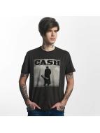 Amplified Tričká Johnny Cash Walking Legend šedá