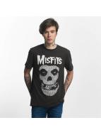 Amplified Tričká Misfits Skull šedá
