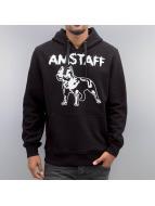 Amstaff Bluzy z kapturem Logo czarny