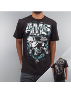 Amstaff Camiseta Daban negro