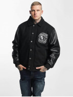Amstaff College Jacket Narvik black
