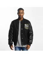 Amstaff College Jacket Black