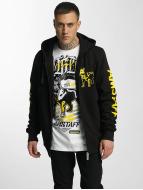 Amstaff Hoodies con zip Logo giallo