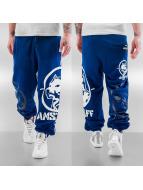 Amstaff joggingbroek Ethonos blauw