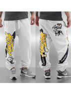 Amstaff joggingbroek Pryor wit
