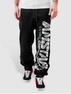 Amstaff joggingbroek Dasher zwart