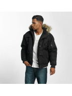 Amstaff Fur Winter Jacket Black