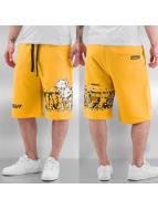 Amstaff Pantalón cortos Tweat amarillo