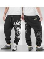 Amstaff Pantalón deportivo Renars negro