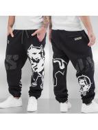 Amstaff Pantalone ginnico Baran nero