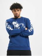 Amstaff Pullover Logo bleu
