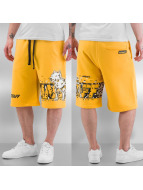 Amstaff shorts Tweat geel