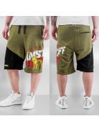 Amstaff shorts Bizkit olijfgroen