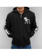 Amstaff Sweat capuche zippé Logo noir
