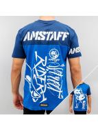 Amstaff T-Shirt Carus blau