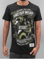 Amstaff T-Shirt Isanto noir