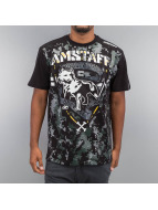 Amstaff T-Shirt Kodor schwarz