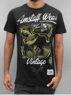 Amstaff T-Shirt Perro schwarz