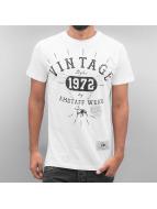 Amstaff T-Shirt Vintage weiß