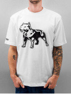 Amstaff t-shirt Logo wit