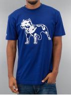 Amstaff T-shirtar Logo blå