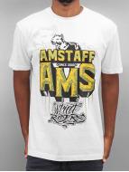 Amstaff T-shirtar Harson vit