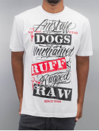Amstaff T-Shirty Mero bialy