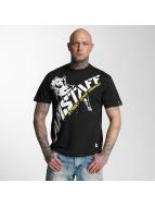 Amstaff T-Shirty Kalamos czarny