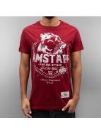 Amstaff T-Shirty Neres czerwony