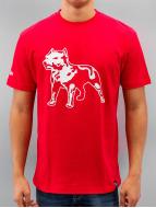 Amstaff T-Shirty Logo czerwony