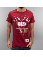 Amstaff T-skjorter Vintage red