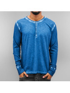 Amsterdenim Camiseta de manga larga Jeen Hart azul