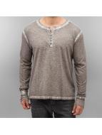 Amsterdenim Camiseta de manga larga Nelis gris