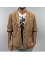Amsterdenim Shirt Sjaak brown