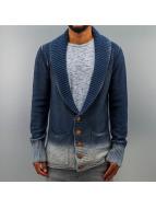 Amsterdenim Swetry rozpinane Bas niebieski