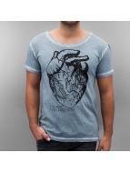 Amsterdenim T-shirt Floris blå