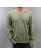 Amsterdenim trui Zeger groen