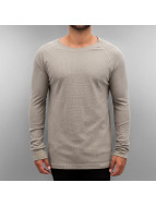Authentic Style Пуловер Raglan серый