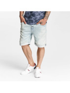 Authentic Style Шорты Sublevel Haka Bermuda Jogg Denim синий