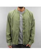 Authentic Style Thin Sublevel Bomber Jacket Ivy Olive