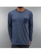 Authentic Style Camiseta de manga larga Tom azul