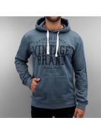 Authentic Style Hoodie Vintage Brand blå