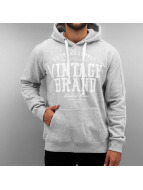 Authentic Style Hoodie Vintage Brand gray
