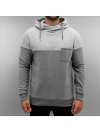Authentic Style Hoodies Two Tone grå