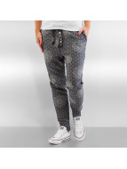 Authentic Style Joggebukser Pattern blå